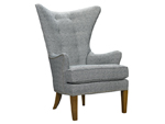 1271-17 Beaufort Wing Chair (Jarrett Bay Home Collection)