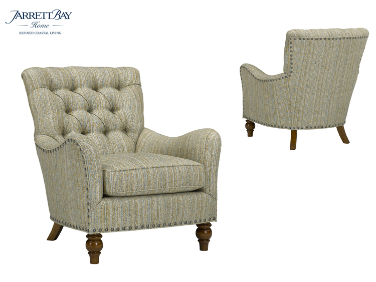 1672 Ramsey Chair (Jarrett Bay Home Collection) - QS Frame
