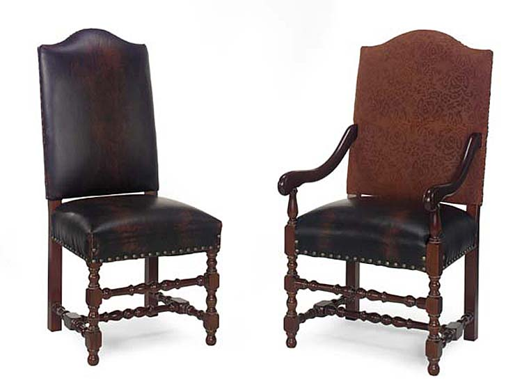 409-10 Vaughn Armless Dining Chair