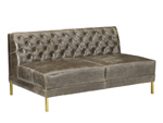 4185-59 After Hours Armless Loveseat - QS Frame