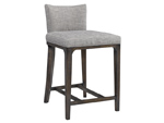 4828L-10 Charlie Armless Counter Height Barstool